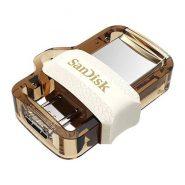 فلش مموری سن دیسک 64 گیگابایت مدل Ultra dual drive