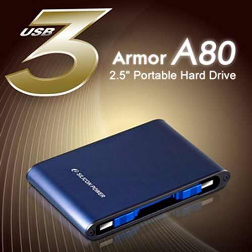 هارد اکسترنال 1 ترابایت سیلیکون پاور مدل Armor A80
