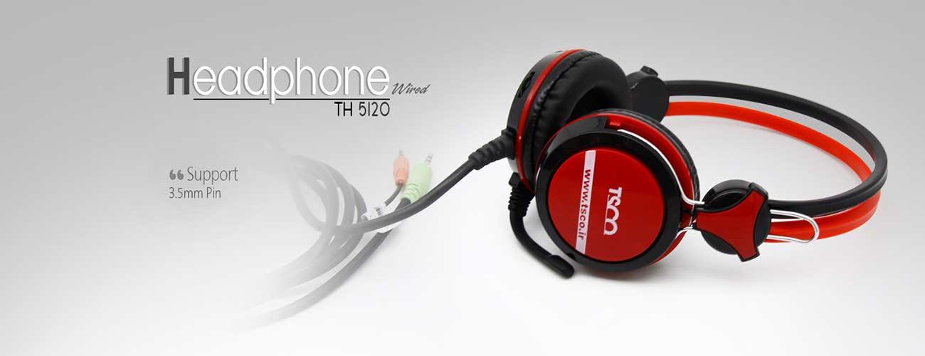 هدفون میکروفون دار تسکو مدل 5120